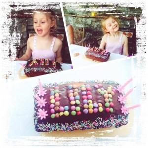 Birthday celebrations going well under the pergolafamily familytime birthday