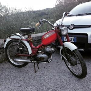 Gabbiano bike from the 70s gabbiano italy italyiloveyou tuscany Tuscanhellip