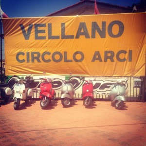 Old bikes in Vellano lambretta vespa vintage tuscany tuscanyvillages oldcarhellip